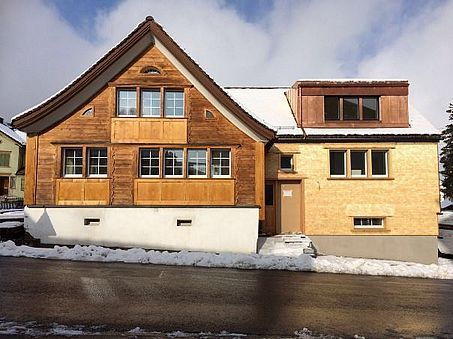 Umbau Sanierung Wohnhaus