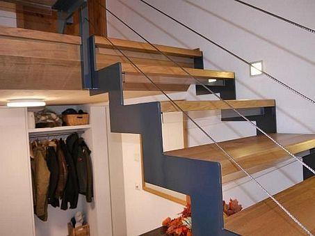 Raffinierte Treppe